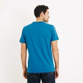 Anchor Graphic Print T-Shirt Blue Jay