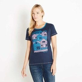 Orion Graphic Print T-Shirt Midnight