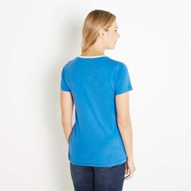 Orion Graphic Print T-Shirt Aster Blue