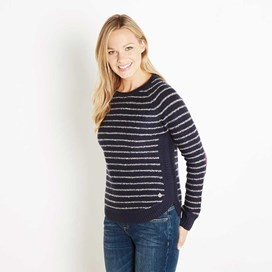 Eldridge Striped Jumper Midnight