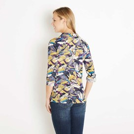 Agua Printed Jersey Shirt Mulberry