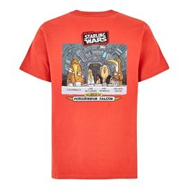 Starling Wars Artist T-Shirt Tango Red