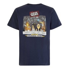 Starling Wars Artist T-Shirt Navy
