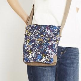 Amira Printed Cross Body Bag Indigo