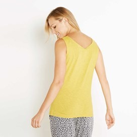Beeches Vest Top Sweetcorn