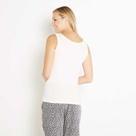 Beeches Vest Top Ivory