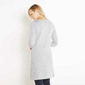 Artisan Loopback Shift Dress Dark Navy