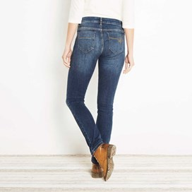 Vixen Denim Straight Leg Jean Light Denim
