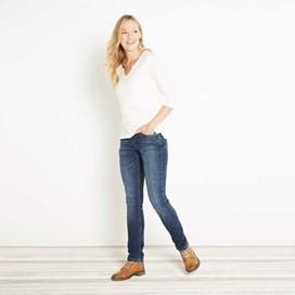 Vixen Denim Straight Leg Jean Light Denim