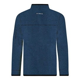 Teris Full Zip Technical Macaroni Sweatshirt Ensign Blue