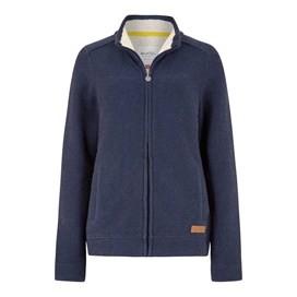 Eartha Full Zip Seira Soft Knit Jacket Midnight
