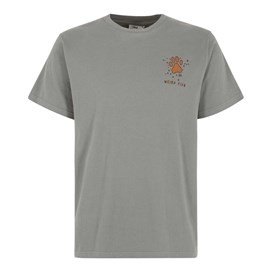 Eat Sleep Walk Artist T-Shirt Grey Blue