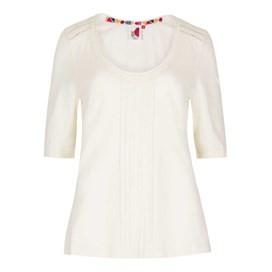 Santana Slub Jersey Outfitter T-Shirt Light Cream