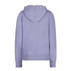 Taloga Print Lined Full Zip Hoodie Dark Lavender