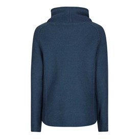 Nuray Print Trim Classic Macaroni Popover Sweatshirt Dark Denim