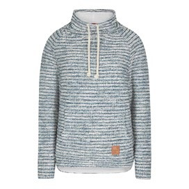 Essie Slub Knitted Popover Top Dark Denim