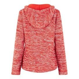 Abelia Nepp Full Zip Classic Macaroni Hoodie Tango Red