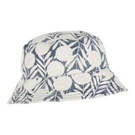 Cleethorpes Printed Reversible Bucket Hat Dark Denim