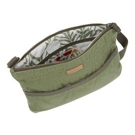Farrow Cotton Cross Body Bag Avocado