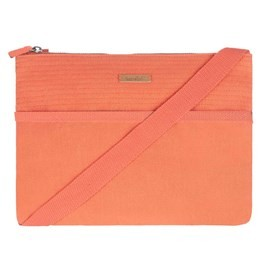 Farrow Cotton Cross Body Bag Vibrant Coral