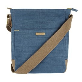 Betti Cotton Cross Body Bag Dark Denim