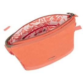 Britta Cotton Cross Body Bag Vibrant Coral