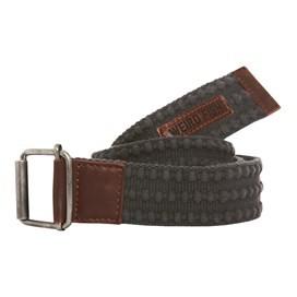 Olrog Textured Webbing Belt Dark Grey
