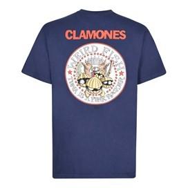 Clamones Artist T-Shirt Maritime Blue