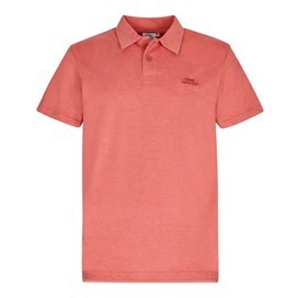 Andy Marled Jersey Polo Shirt Baked Apple Marl