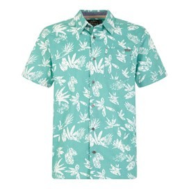 Mullins Hawaiian Short Sleeve Shirt Menthol
