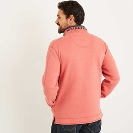 Boyer Button Neck Sweatshirt Baked Apple