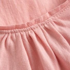 Gaia Floral Print Top Pale Pink
