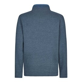 Boyer Button Neck Sweatshirt Maritime Blue