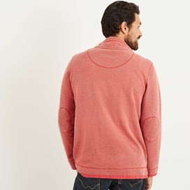 Zorrin 1/4 Zip Pique Sweatshirt Baked Apple