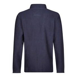 Skipper 1/4 Zip Classic Macaroni Sweatshirt Maritime Blue