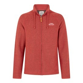 Birch Full Zip Classic Macaroni Brick Red