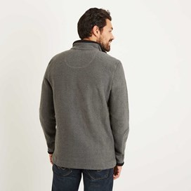 Bowline 1/4 Zip Technical Macaroni Sweatshirt Pewter