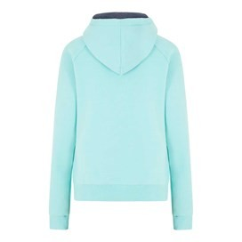 Polly Full Zip Applique Hoodie Aqua Sky