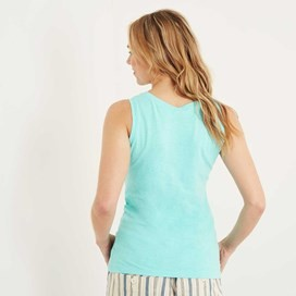 Shoreline Graphic Vest Aqua Sky