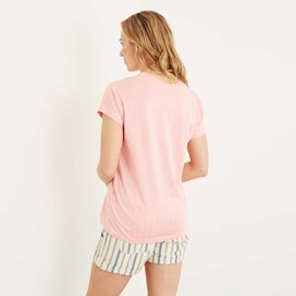 Seagull Graphic T-Shirt Coral Pink