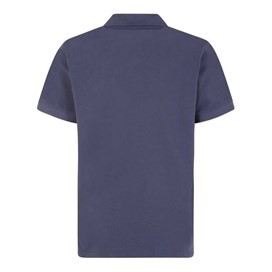 Saltash Rib Collar Pique Polo Shirt Black Iris