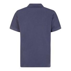 Saltash Rib Collar Pique Polo Shirt Black Iris
