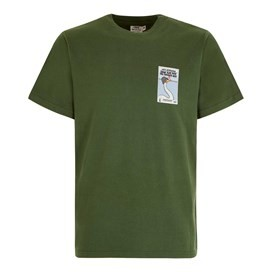 Swan Flew Artist T-Shirt Olive