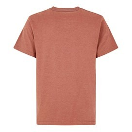 Carlo Graphic Print T-Shirt Brick Red Marl