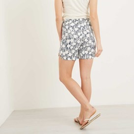 Oneida Printed Lightweight Short Dark Denim