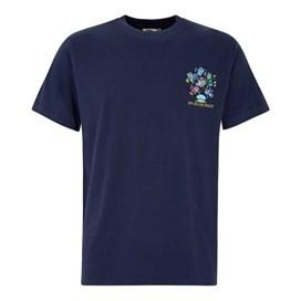 Six Oceans Artist T-Shirt Black Iris