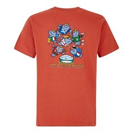 Six Oceans Artist T-Shirt Baked Apple