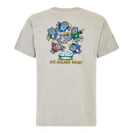Six Oceans Artist T-Shirt Grey Marl