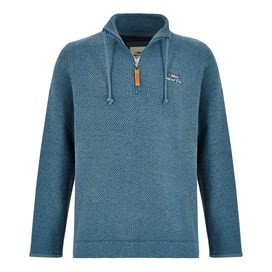 Skipper 1/4 Zip Classic Macaroni Sweatshirt Ensign Blue