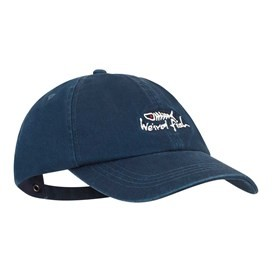 Retro Bones Embroidered Cap Maritime Blue